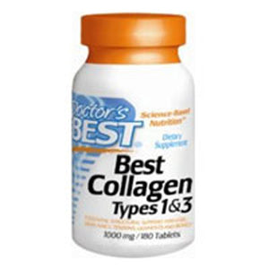 Best Collagen Types 1 & 3 180 Tabs by Doctors Best (2587311505493)
