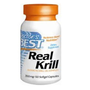 Real Krill 60 Softgels by Doctors Best (2587311702101)
