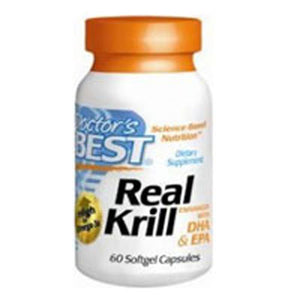 Real Krill Enhanced with DHA & EPA 60 softgels by Doctors Best (2587311865941)