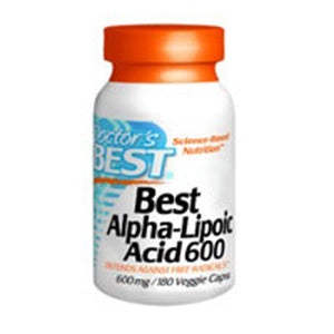 Alpha Lipoic Acid 180 Veggie Caps by Doctors Best