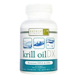 Krill Oil Dx 60 Softgels by Natural Dynamix (2589120200789)
