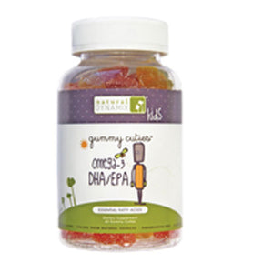 Gummy Cuties Kids Omega 3 DHA/EPA 60 Chews by Natural Dynamix