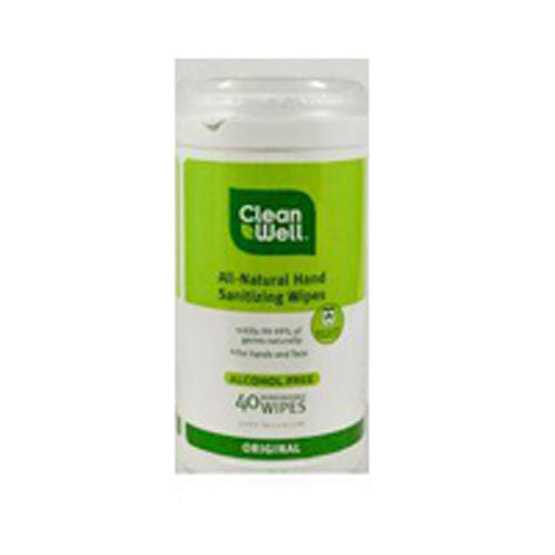 Hand Sanitzng Wipes Original 40 ct by CleanWell