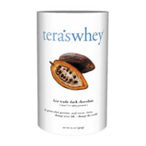 Whey Protein Dark Chocolate/rBGH Free 12 Oz by Tera's Whey (2587313930325)