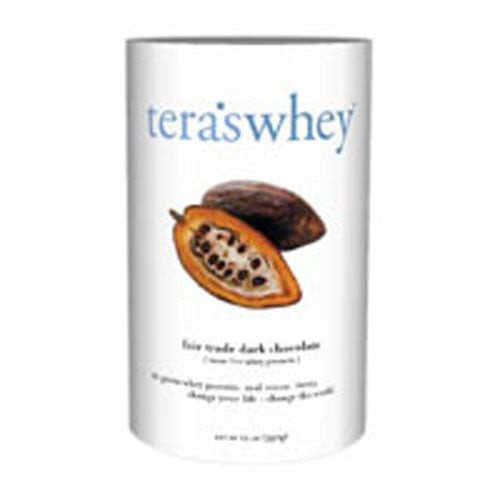Whey Protein Dark Chocolate/rBGH Free 12 Oz by Tera's Whey