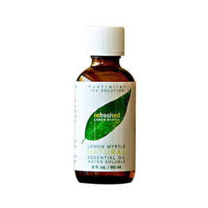 Essential Oil Lemon Myrtle/Water Soluble 2 Oz by Tea Tree Therapy
