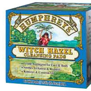 Witch Hazel Pads 60 ct by Humphreys Homeopathic Remedies (2587314192469)