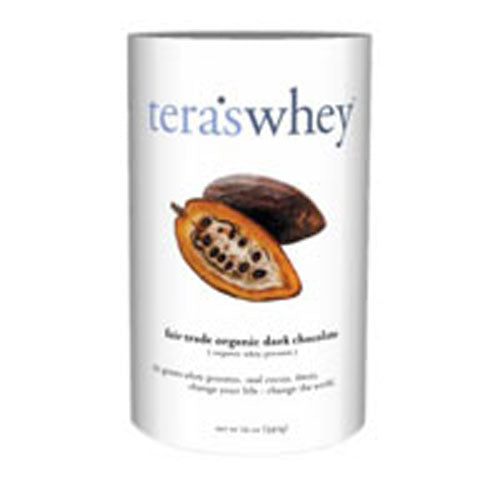 Whey Protein Dark Chocolate/Organic 12 Oz by Tera's Whey