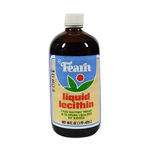 Lecithin Liquid 16 OZ EA by Fearn Natural Foods