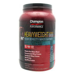 Heavyweight Gainer 900 Chocolate 3.3 Lbs by Champion Nutrition (2588671639637)