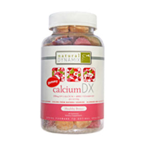 Adult Calcium Gummies 60 ct by Natural Dynamix