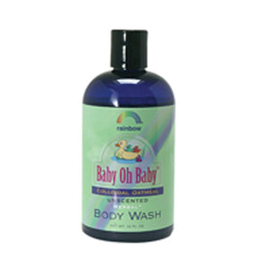 Baby Colloidal Oatmeal Body Wash Unscented 12 oz by Rainbow Research (2589124165717)