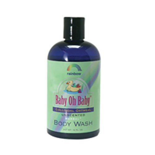Baby Colloidal Oatmeal Body Wash Unscented 12 oz by Rainbow Research
