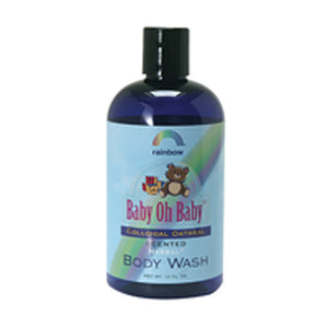Baby Colloidal Oatmeal Body Wash Scented 12 oz by Rainbow Research (2589124231253)