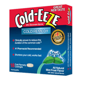 Cold-EEZE Lozenges Mint Frost 18 ct by Cold-Eeze