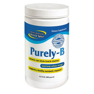 Purely-B Vitamin B 400 GRAMS by North American Herb & Spice (2587316715605)