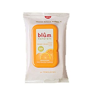 Daily Exfoliating Towelettes 10 ct by Blum Naturals (2589127606357)