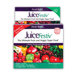 JuiceFestiv 60 + 60 caps by Natrol (2589128720469)