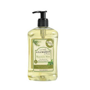 French Liquid Soap Rosemary & Mint 16.9 oz by A La Maison (2587318714453)