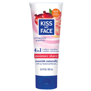 Moisture Shave Pomegranate Grapefruit 3.4 oz by Kiss My Face