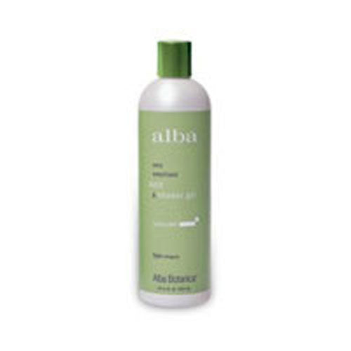Body Bath Sparkling Mint 32 FL Oz by Alba Botanica
