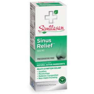 Sinus Relief Nasal Spray .68 oz by Similasan (2587321106517)