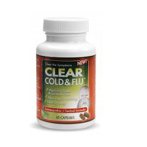 Clear Cold & Flu 60 caps by Clear Products (2587321139285)