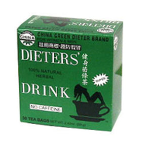 Dieters Tea for Weight-Loss 30 CT by Uncle Lees Teas (2584251498581)
