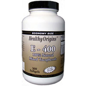 Vitamin E 360 soft gels by Healthy Origins (2587320025173)