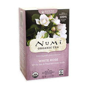White Tea Rose 16 bags by Numi Tea