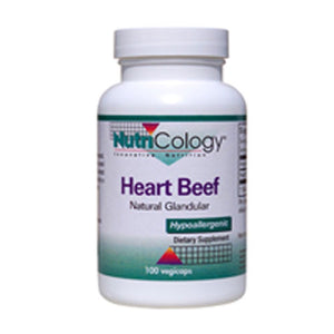 Natural Glandular Heart Beef 100 Caps by Nutricology/ Allergy Research Group
