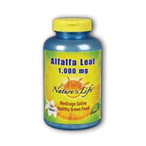 Alfalfa Leaf 250 tabs by Nature's Life (2589147398229)