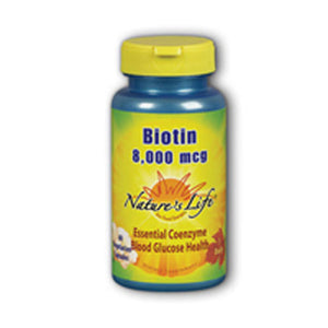 Biotin 60 vcaps by Nature's Life (2587325104213)