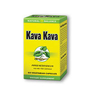 Kava Kava Root 60 vcaps by Natural Balance (Formerly known as Trimedica)  (2587325661269)