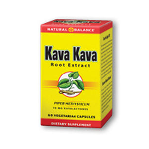 Kava Kava Root Extract 60 vcaps by Natural Balance (Formerly known as Trimedica)  (2587325694037)