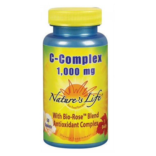 C-Complex 50 tabs by Nature's Life