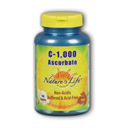 Ascorbate C 250 tabs by Nature's Life