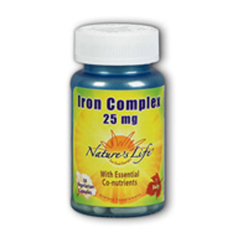 Iron Complex 100 vcaps by Nature's Life