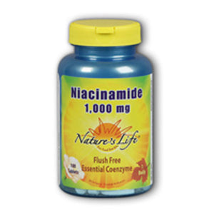 Niacinamide 100 tabs by Nature's Life (2589150314581)