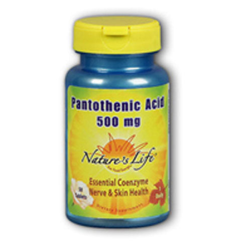 Pantothenic Acid 250 tabs by Nature's Life
