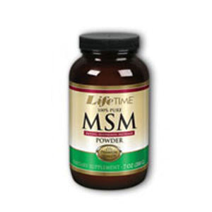 100% Pure MSM Powder 7 oz by Life Time Nutritional Specialties (2589150478421)