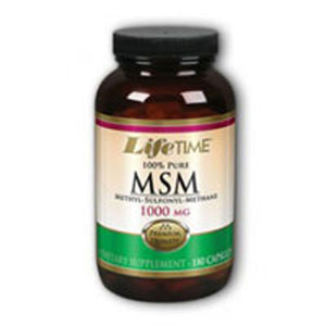 100% Pure MSM 180 caps by Life Time Nutritional Specialties