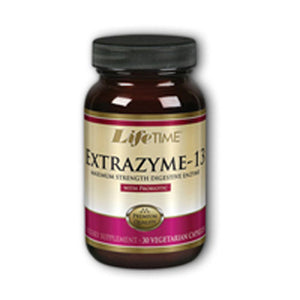 Extrazyme-13 Probiotic 30 caps by Life Time Nutritional Specialties (2589151068245)