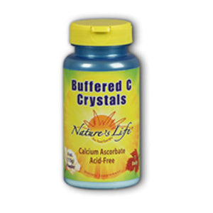 Buffered C Crystals Powder Unflavoured 8 Oz by Nature's Life