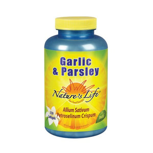 Garlic & Parsley 250 softgels by Nature's Life
