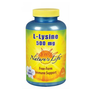 L-Lysine 250 tabs by Nature's Life (2587331395669)