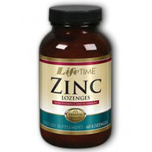 Zinc Lozenges 60 ct by Life Time Nutritional Specialties