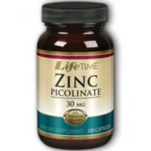 Zinc Picolinate 100 caps by Life Time Nutritional Specialties (2587333197909)