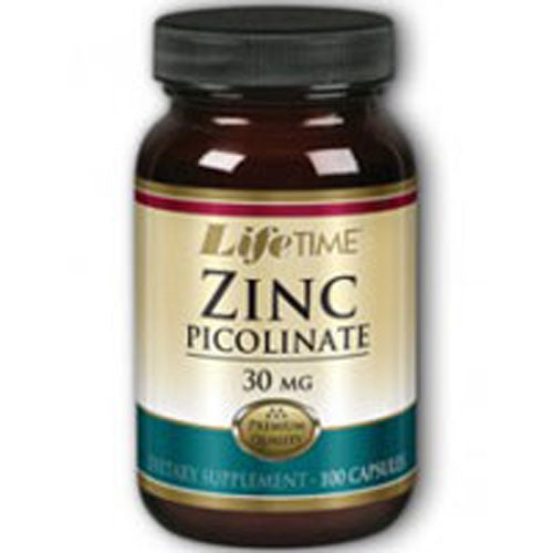 Zinc Picolinate 100 caps by Life Time Nutritional Specialties
