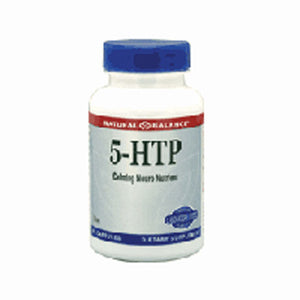 5 - HTP 60 vcaps by Natural Balance (Formerly known as Trimedica)